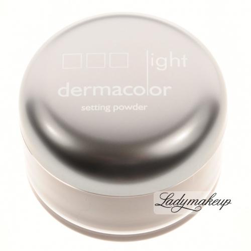 Kryolan - Dermacolor Light - Puder Utrwalający - Naturalny
