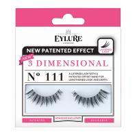 EYLURE - 3 DIMENSIONAL - NO 111 - Eyelashes with glue - 60 01 683