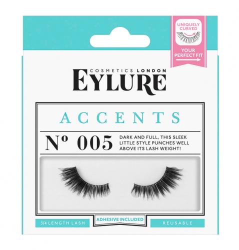 EYLURE - ACCENTS - NR 005 - Rzęsy z klejem - Akcenty - 60 01 817