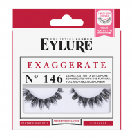 EYLURE - EXAGGERATE - NR 146 - Eyelashes with glue - Double volume effect - 60 01 818