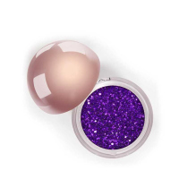LASplash - CRYSTALLIZED GLITTER COLLECTION - Brokatowy, sypki cień do powiek - 16510 - PURPLE RAIN - 16510 - PURPLE RAIN