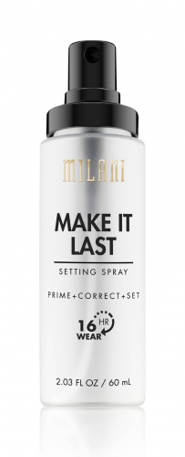 MILANI - MAKE IT LAST - SETTING SPRAY - PRIME+CORRECT+SET - Matująca mgiełka/utrwalacz do twarzy