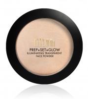 MILANI - PREP + SET + GLOW - ILLUMINATING TRANSPARENT FACE POWDER - Rozświetlający puder do twarzy