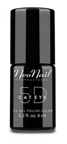 NeoNail - UV GEL POLISH COLOR - 5D CAT EYE - Magnetyczny lakier hybrydowy - EFEKT KOCIEGO OKA 5D - 6 ml