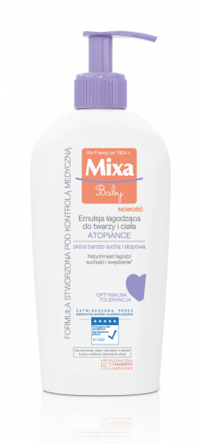 Mixa - ATOPIANCE - Soothing emulsion for face and body - Very dry and atopic skin