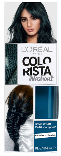L'Oréal - COLORISTA Washout - #DENIMHAIR - Zmywalna koloryzacja - JEANSOWY
