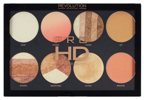 MAKEUP REVOLUTION - PRO HD - AMPLIFIED PALETTE - BRIGHTER THAN MY FUTURE