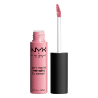 NYX Professional Makeup - SOFT MATTE METALLIC LIP CREAM