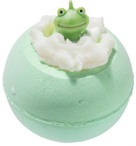 Bomb Cosmetics - IT'S NOT EASY BEING GREEN - Musująca kula do kąpieli - ZIELONO MI