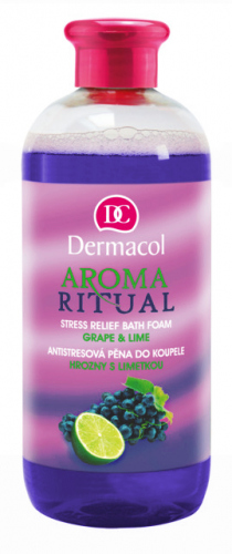 Dermacol - AROMA RITUAL - REFRESHING BATH FOAM - GRAPE & LIME