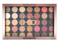 MAKEUP REVOLUTION - PRO HD AMPLIFIED 35 PALETTE - SOCIALITE - Paleta 35 cieni do powiek
