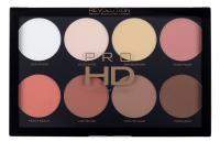 MAKEUP REVOLUTION - PRO HD AMPLIFIED PALETTE - MEGA MATTE - Palette of 8 powders