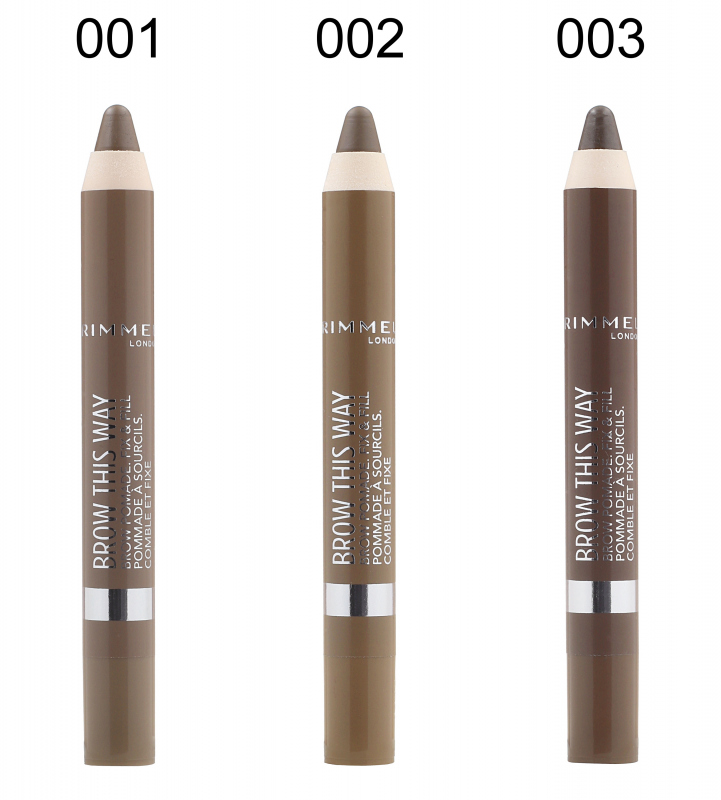 Rimmel Brow This Way Brown Pomade Eyebrow Pencil
