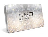 AFFECT - GLOSSY BOX - Aluminiowa pusta paleta magnetyczna