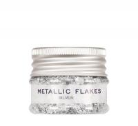 KRYOLAN - METALLIC FLAKES - Metaliczna folia w płatkach - ART. 03075/00 - SILVER - SILVER