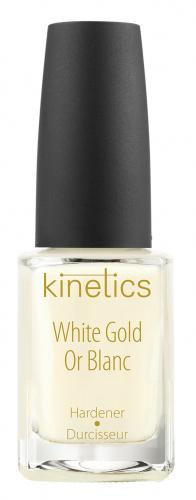Kinetics - White Gold Hardener - Wzmacniająca odżywka do paznokci - Białe Złoto