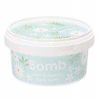 Bomb Cosmetics - Summer Holiday - Body Butter - Body Butter with 30% Shea - HOLIDAY