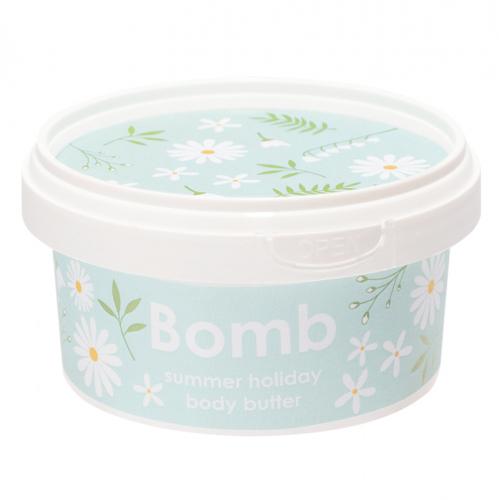 Bomb Cosmetics - Summer Holiday - Body Butter - Masło do ciała z 30% Shea - WAKACJE