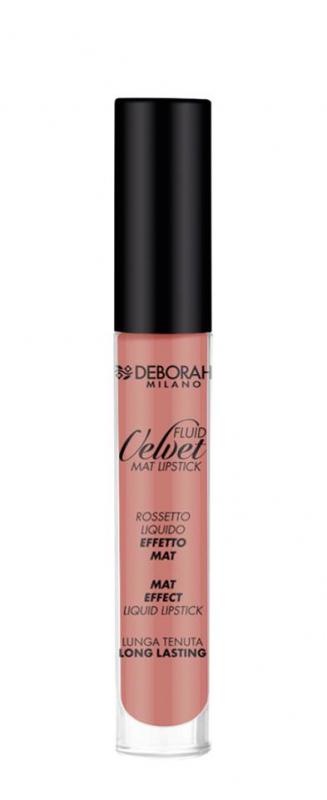 Deborah Milano Fluid Velvet Matte Lipstick