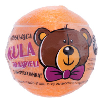 LaQ - Sparkling Bath Ball with Surprise - Orange