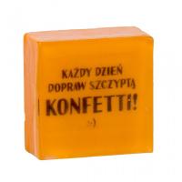 LaQ - Happy Soaps - Short Message Soaps - Mydełko glicerynowe SMS - KAŻDY DZIEŃ