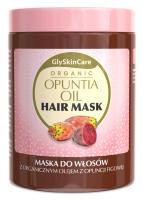 GlySkinCare - ORGANIC OPUNTIA OIL HAIR MASK - Maska do włosów z organicznym olejem z opuncji figowej