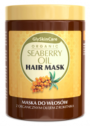 GlySkinCare - ORGANIC SEABERRY OIL HAIR MASK - Maska do włosów z organicznym olejem z rokitnika