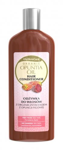 GlySkinCare - ORGANIC OPUNTIA OIL HAIR CONDITIONER - Odżywka do włosów z organicznym olejem z opuncji figowej