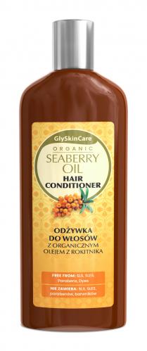 GlySkinCare - ORGANIC SEABERRY OIL HAIR CONDITIONER - Odżywka do włosów z organicznym olejem z rokitnika