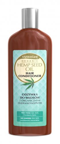 GlySkinCare - ORGANIC HEMP SEED OIL HAIR CONDITIONER - Odżywka do włosów z organicznym olejem konopnym