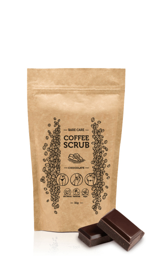 BARE CARE - COFFEE SCRUB - CHOCOLATE - 30g