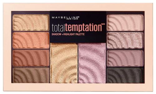 MAYBELLINE - Total Temptation - Shadow + Highlighter Palette - Paleta do makijażu