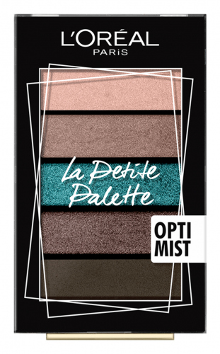 L'Oréal - Mini Eyeshadow Palette - Zestaw 5 cieni do powiek - OPTIMIST