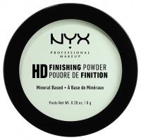 NYX Professional Makeup - HD FINISHING POWDER - MINT GREEN