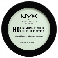 NYX Professional Makeup - HD FINISHING POWDER - Puder wykończeniowy do makijażu - MINT GREEN
