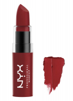 NYX Professional Makeup - BUTTER LIPSTICK - Kremowa pomadka do ust - BLS08 - AFTERNOON HEAT - BLS08 - AFTERNOON HEAT