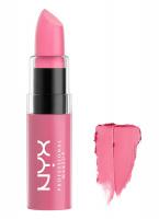NYX Professional Makeup - BUTTER LIPSTICK - Kremowa pomadka do ust - BLS14 - SNOWCONE - BLS14 - SNOWCONE