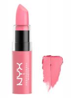 NYX Professional Makeup - BUTTER LIPSTICK - Kremowa pomadka do ust - BLS22 - PINK BIKINI - BLS22 - PINK BIKINI