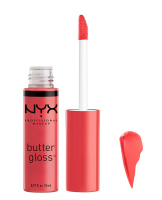 NYX Professional Makeup - BUTTER GLOSS - Creamy Lip Gloss - 28 - Pink Buttercream - 28 - Pink Buttercream