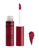 NYX Professional Makeup - BUTTER GLOSS - Creamy Lip Gloss - 24 - Cranberry Biscotti - 24 - Cranberry Biscotti