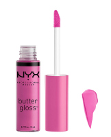 NYX Professional Makeup - BUTTER GLOSS - Creamy Lip Gloss - 26 - Cotton Candy - 26 - Cotton Candy
