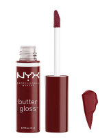 NYX Professional Makeup - BUTTER GLOSS - Creamy Lip Gloss - 27 - Red Wine Truffle - 27 - Red Wine Truffle