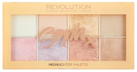 MAKEUP REVOLUTION - Soph X - Highlighter Palette - Paleta 8 rozświetlaczy