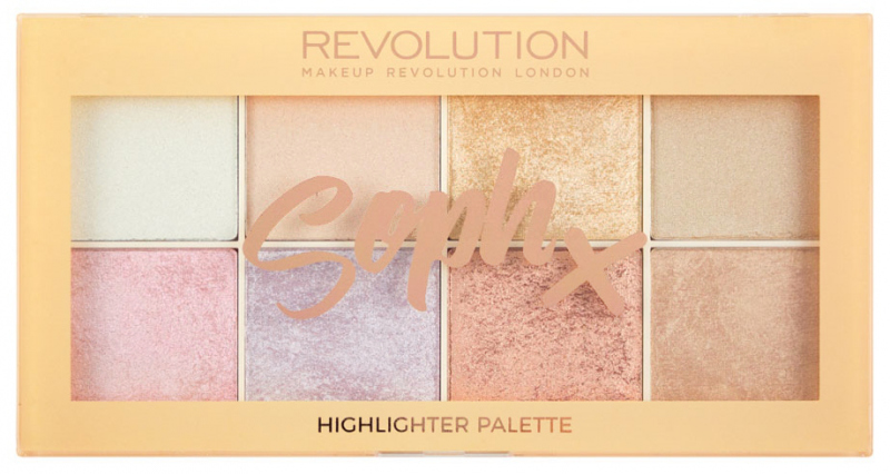 Make up revolution highlighter palette