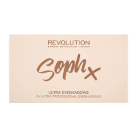 MAKEUP REVOLUTION - Soph X - Ultra Eyeshadow Palette - Paleta 24 cieni do powiek