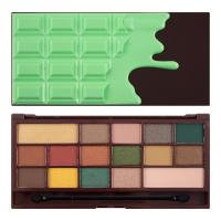 I ♡ Makeup - 16 Eyeshadow Palette - CHOCOLATE MINT - Paleta 16 cieni do powiek (MIĘTOWA CZEKOLADA)