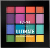 NYX Professional Makeup - ULTIMATE SHADOW PALETTE - BRIGHTS - Paleta 16 cieni do powiek