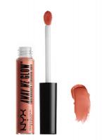 NYX Professional Makeup - AWAY WE GLOW - LIQUID HIGHLIGHTER - Rozświetlacz w płynie - ROSE QUARTZ - ROSE QUARTZ