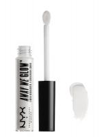 NYX Professional Makeup - AWAY WE GLOW - LIQUID HIGHLIGHTER - Rozświetlacz w płynie - MOON GLOW - MOON GLOW