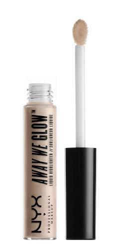 NYX Professional Makeup - AWAY WE GLOW - LIQUID HIGHLIGHTER - Rozświetlacz w płynie